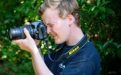 Student intern tells conservation story