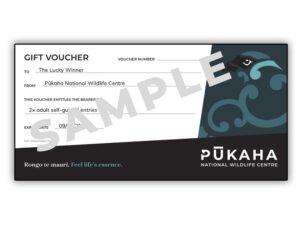 Gift Voucher Pukaha Wildlife Centre V4