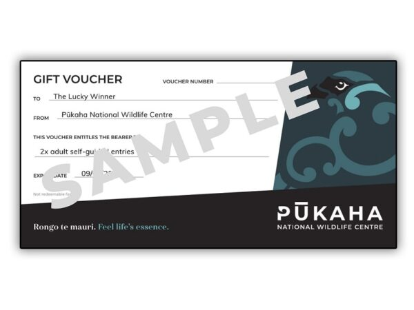 Gift Voucher Pukaha Wildlife Centre V4