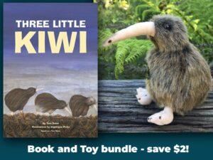 Kiwi Book And Toy Bundle Pukaha National Wildlife Centre